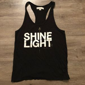 "Spiritual Gangster ""Shine Light"" Tank"